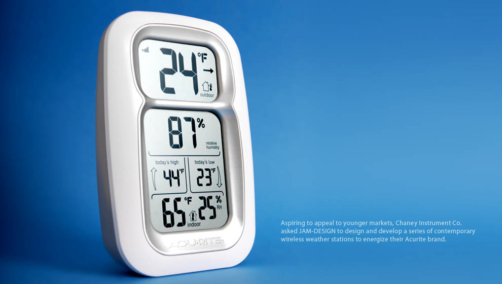 First article sample Wireless Weather Station