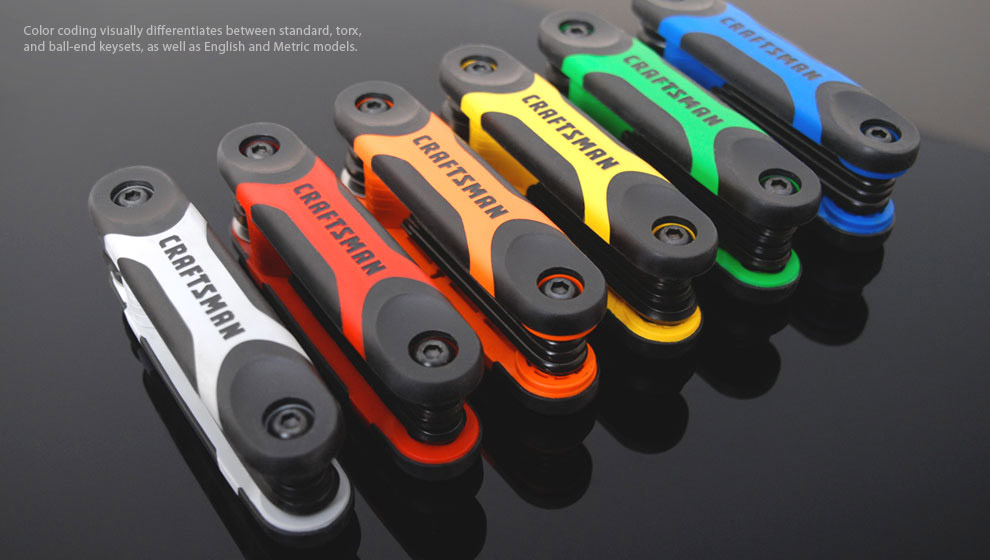 colorful rainbow craftsman tool colors