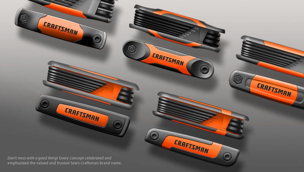 design renderings Craftsman folding tool concepts