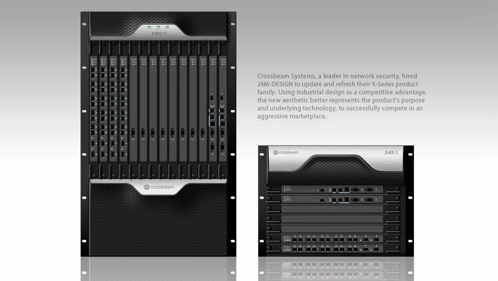 Industrial design concepts computer servers