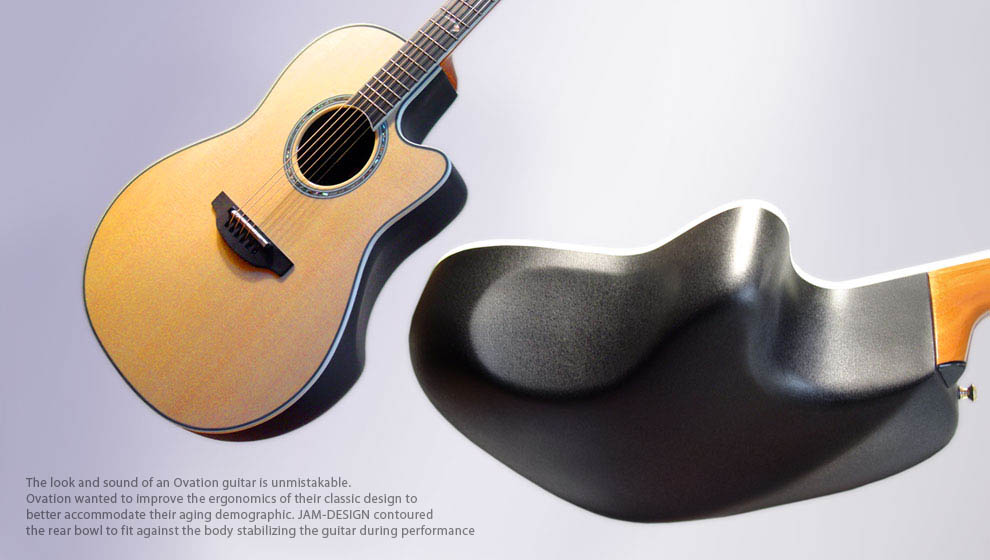 Industrial Design Ovation Guitar